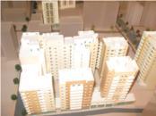 Maquette d'un projet illustrant la densité du projet. Source: Waad